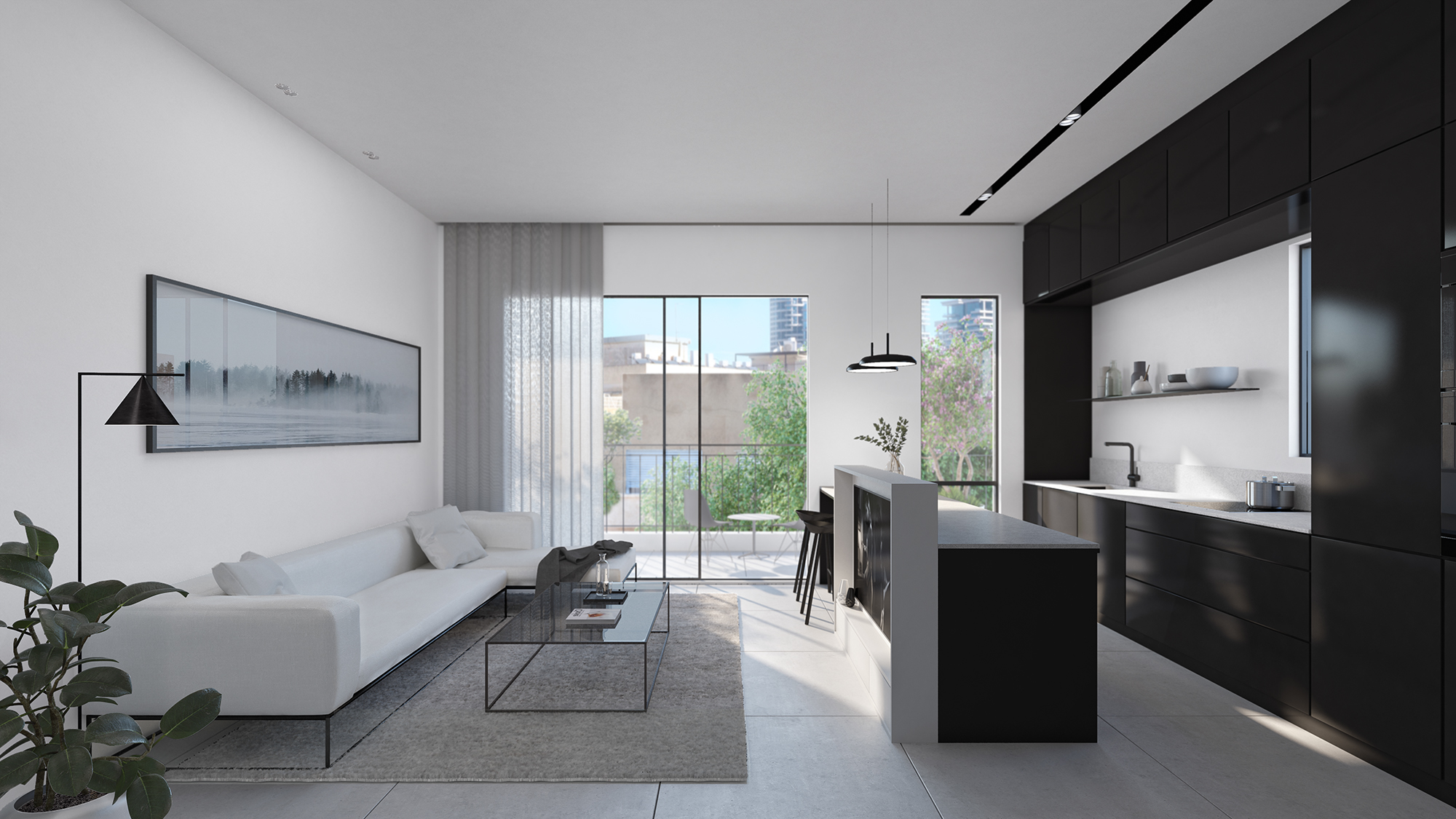 The polaroid apartment
